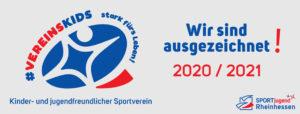 """Gütesiegel """"Kinder- und jugendfreundlicher Verein"""""""